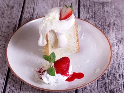 ハリエットのエンジェルフードケーキ