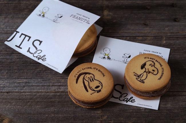 六本木SNOOPY MUSEUM内に出店中の「PEANUTS Cafe」 フードトラックにてアイスサンドクッキーが4/22(土)から新登場!
