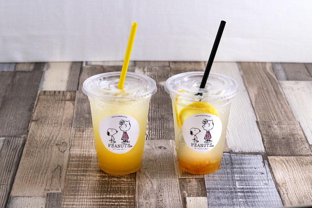 ルーシーのホームメイドレモネード/PEANUTS Cafe