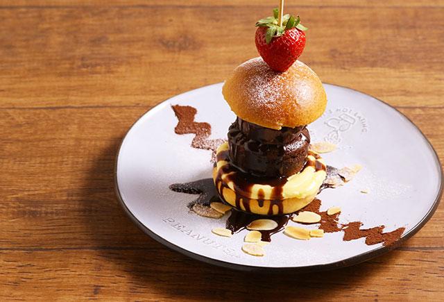 チョコレートハンバーガー
