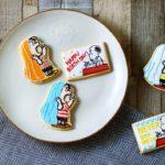 スヌーピーとライナスのアイシングクッキーを作ろう