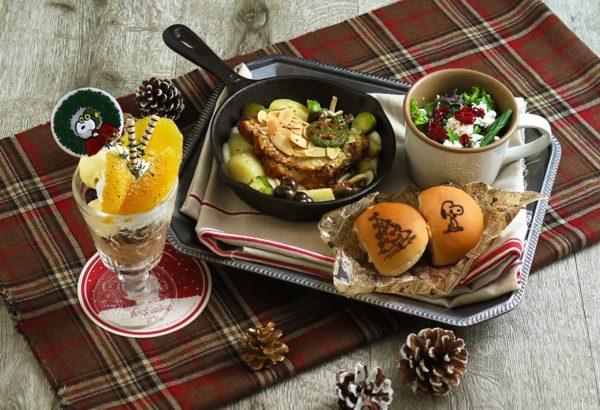 スヌーピーの仲間たちと楽しむクリスマス