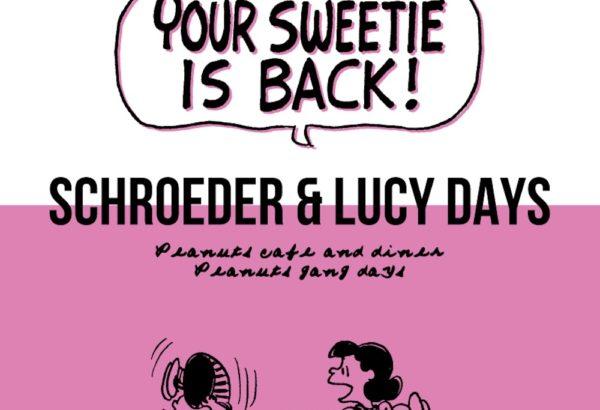 SCHROEDER & LUCY DAYS