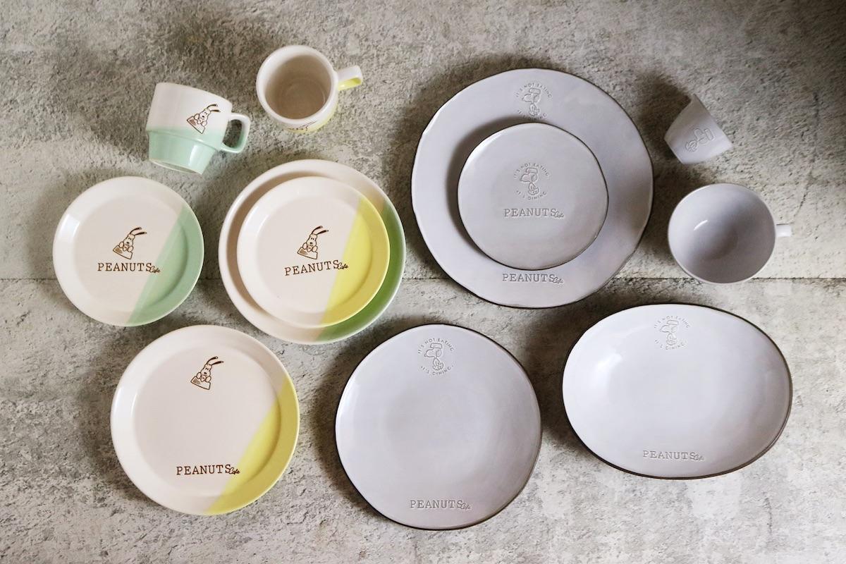 PEANUTS Cafeオリジナルのテーブルウェア