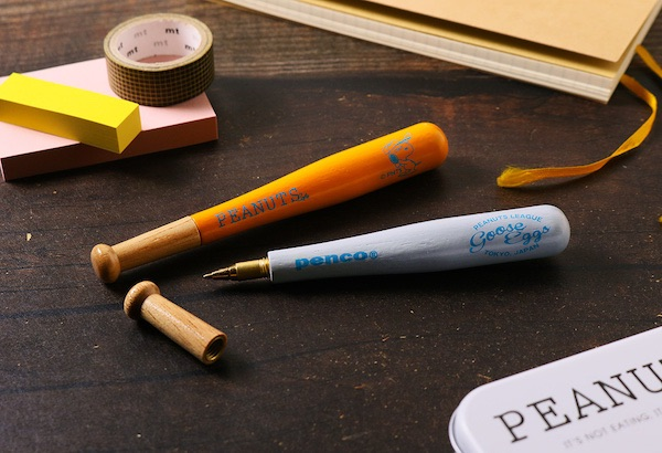 ステーショナリーブランド「PENCO(ペンコ)」とコラボレーション!懐かしのバットペンが新登場!