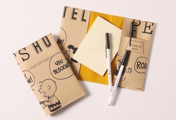「PEANUTS HOTEL」のステーショナリーセットが、NEWデザインで復活!!