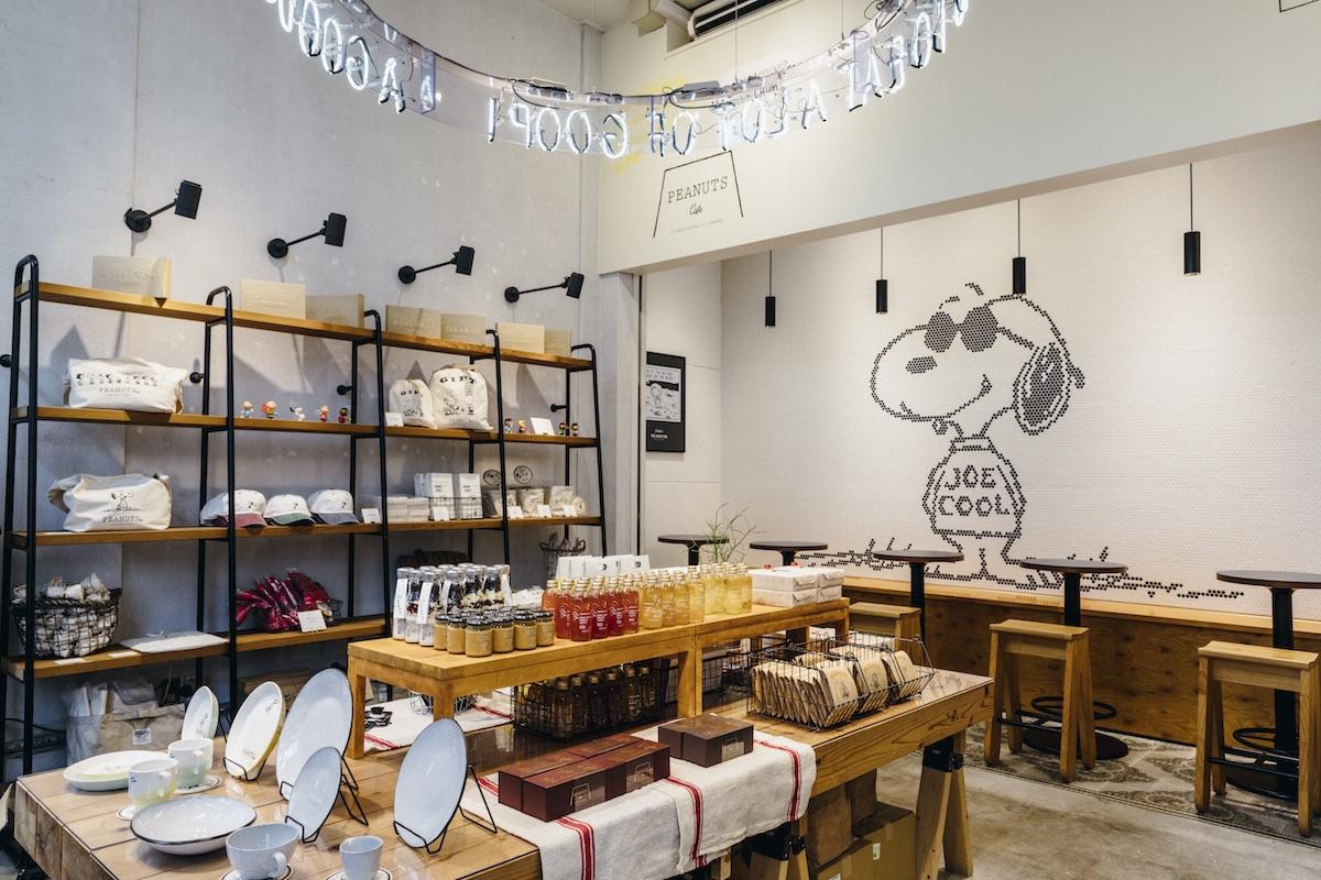 PEANUTS Cafe 店内