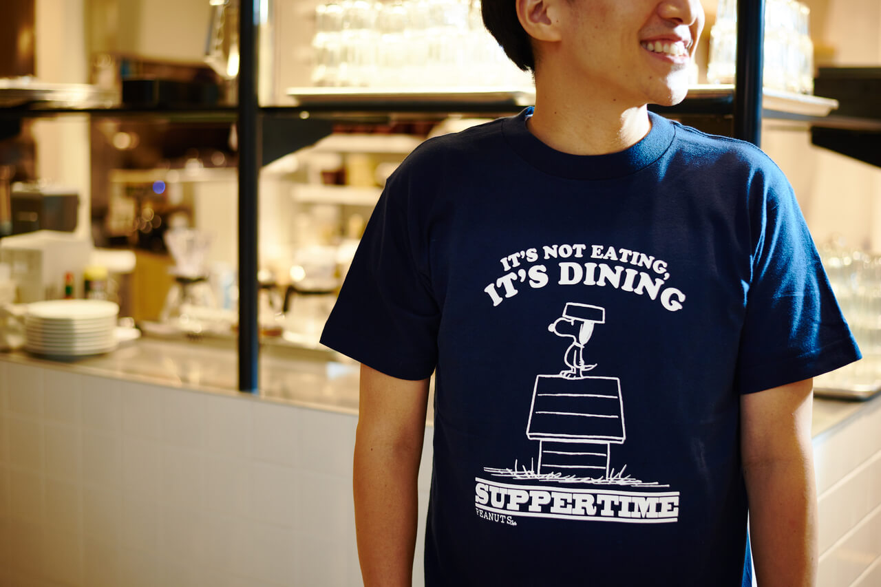 PEANUTS Cafe グッズ Tシャツ