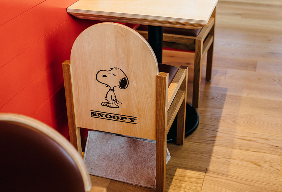 PEANUTS Cafe SNOOPY MUSEUM TOKYO イメージ