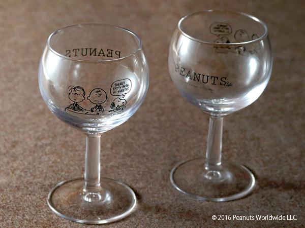 PEANUTS Cafe オリジナル グラス